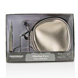 Tweezerman Alluring Eyes Gift Set  2pcs+1 bag