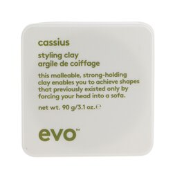 Evo Cassius Styling Clay (For All Hair Types, Especially Thick, Coarse Hair)  90g/3.1oz