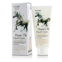 3W Clinic Hand Cream - Horse Oil  100ml/3.38oz