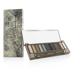 Urban Decay Naked Smoky Eyeshadow Palette (12x Eyeshadow, 1x Doubled Ended Smoky Smudger/Tapered Crease Brush)