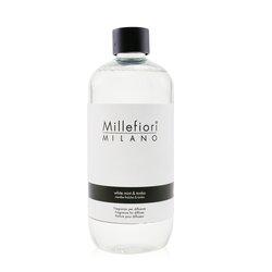 Millefiori Natural Fragrance Diffuser Refill - White Mint & Tonka  500ml/16.9oz