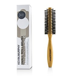 Kevin.Murphy Small Roll.Brush - Round 55mm (Boar & Ionic Bristles, Sustainable Bamboo Handle)  1pc