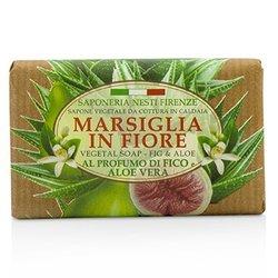 Nesti Dante Marsiglia In Fiore Vegetal Soap - Fig & Aloe Vera  125g/4.3oz