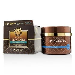 3W Clinic Premium Placenta Deep Cleansing Cream  300ml/10oz