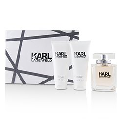 Lagerfeld Lagerfeld Coffret: Eau De Parfum Spray 85ml/2.8oz + Perfumed Body Lotion 100ml/3.3oz + Perfumed Shower Gel 100ml/3.3oz  3pcs