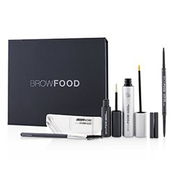 LashFood BrowFood Brow Transformation System - # Dark Brunette (Medium/Dark)  5pcs