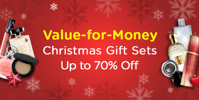 Value-for-Money Christmas Gift Sets Up to 70% Off