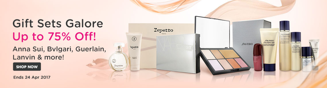 Sweep Up Gift Sets Galore Up to 75% Off!