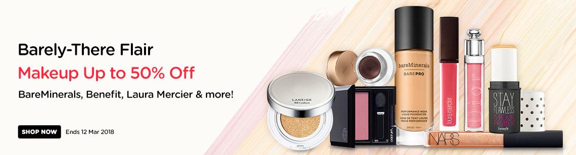 laneige cushion jane iredale shiseido eye shadow bareminerals barepro foundation laura mercier dior nars lipgloss benefit stay flawless primer