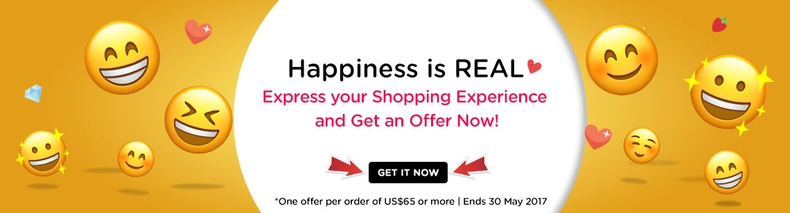 Happiness is real Beauty shopping experience  beauty free gifts