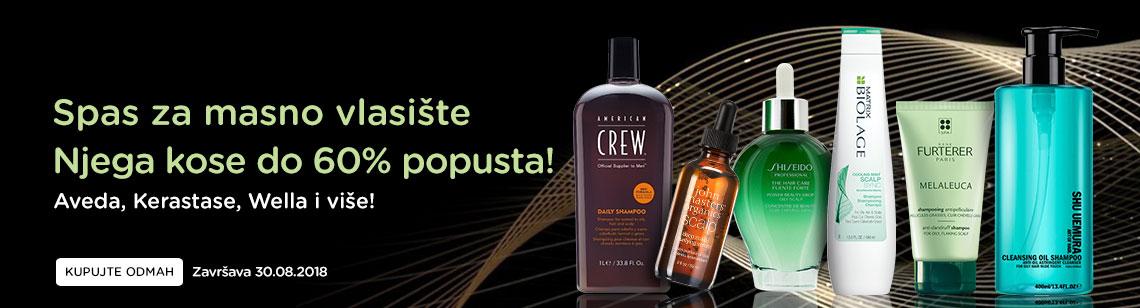Oily Scalp Rescue Up to 60% Off! Aveda, Kerastase, Shiseido, Wella & more! Ends 30 Aug 2018