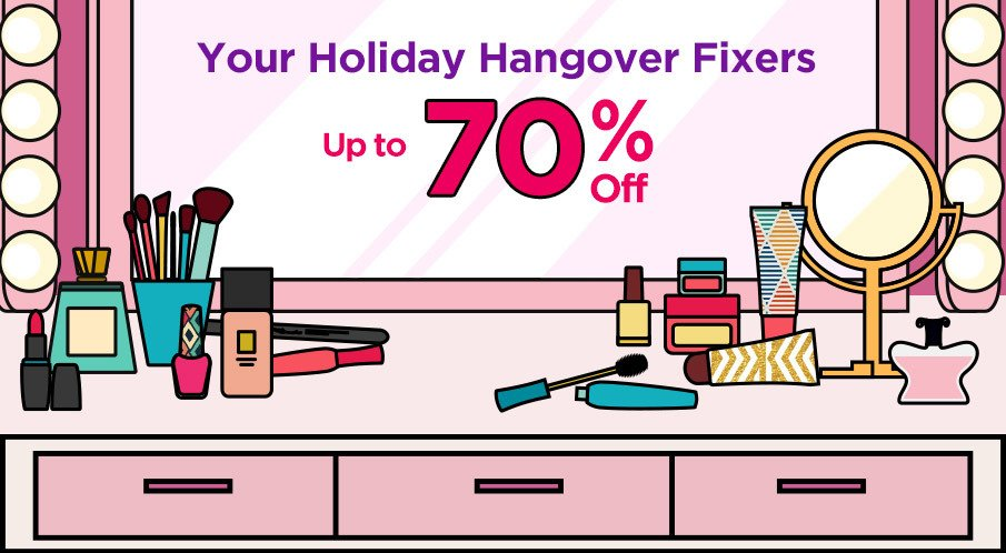 Your Holiday Hangover Fixers Up to 60% Off!