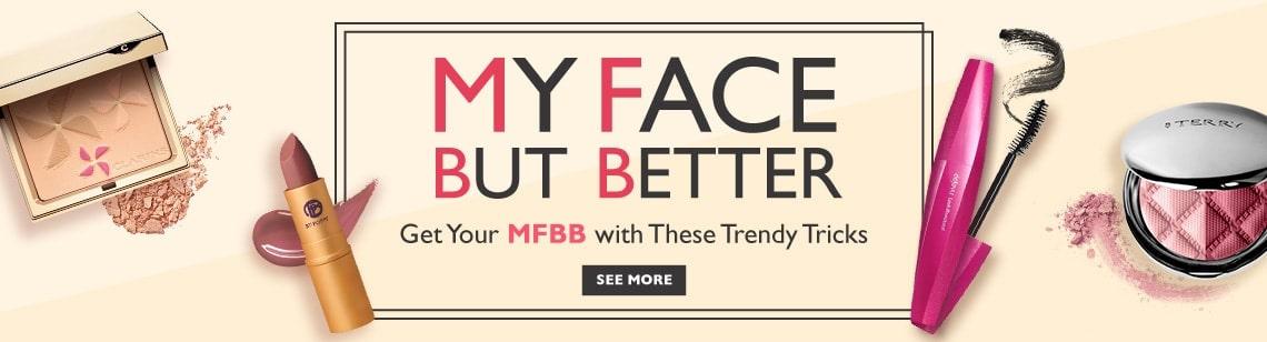 2017 Makeup Trend My Face But Better