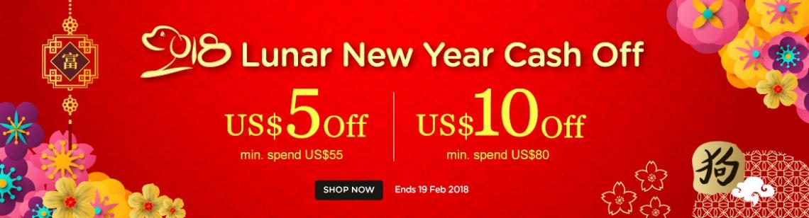 lunar new year cash off