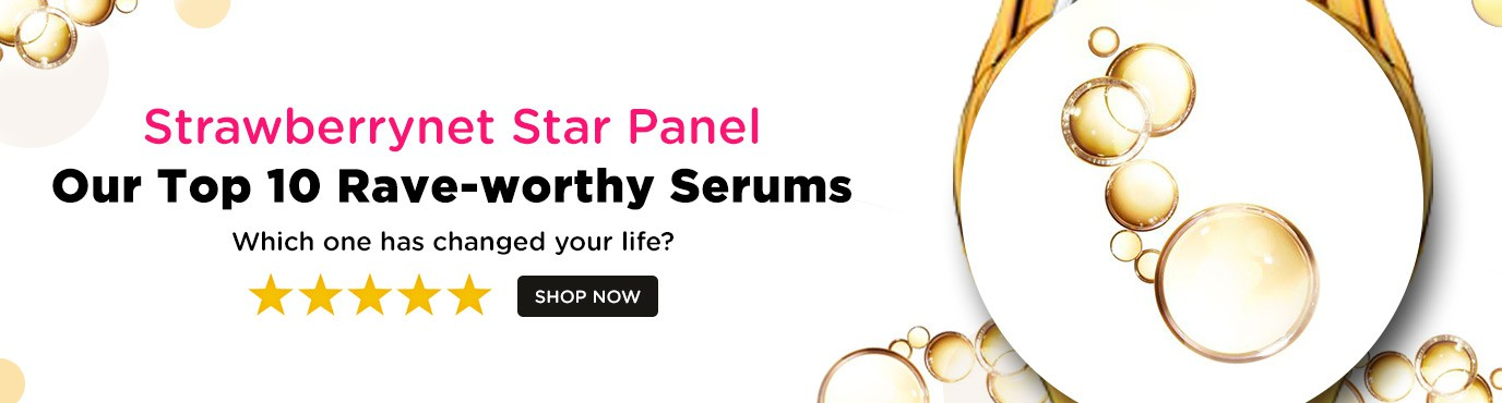 strawberrynet star panel serums