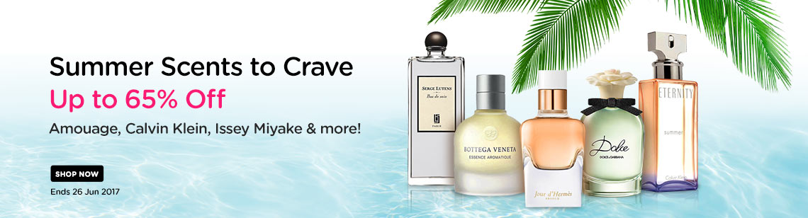 summer scents up to 65% off amouage calvin klein eternity issey miyake bottega veneta dolce gabbana hermes