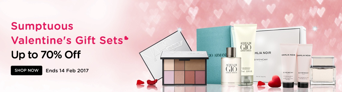 gift and special Valentines gift sets 2017