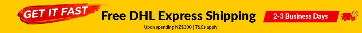 Free DHL Express Shipping