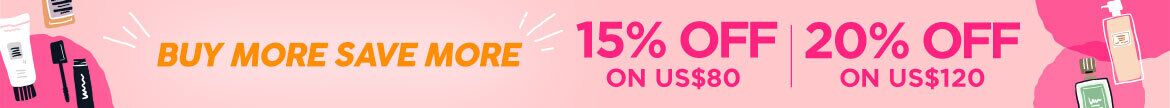 Buy More save more, Sale, sitewide sale, beauty sale, skincare, makeup, haircare, clinque, hourglass, shiseido, lancome
