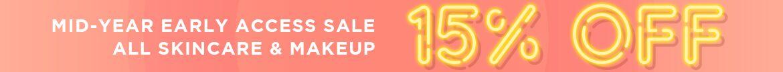 Mid-Year Sale, Early Access, Skincare, Makeup, sale, Lancome, Clarins, Origins, Elizabeth Arden