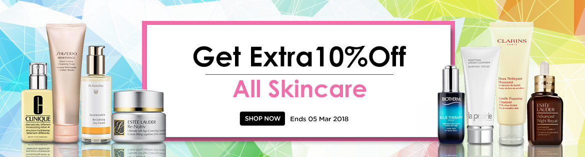 skinare sale moisturizer clinique estee lauder re-nutriv advanced night repair biotherm la prairie purifying cleanser clarins shiseido benefiance dr. heuscka  biotherm blue therapy