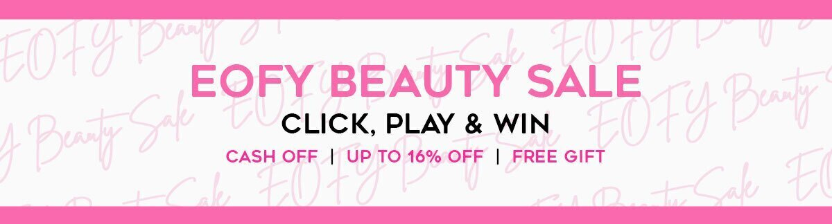 eofy sale, skincare, makeup, fragrance, beauty, cosmetics, clarins, shiseido, lancome, dermalogica, clinique, christian dior, haircare, aveda, moroccanoil, tigi, elizabeth arden. diptyque, skii, jo malone
