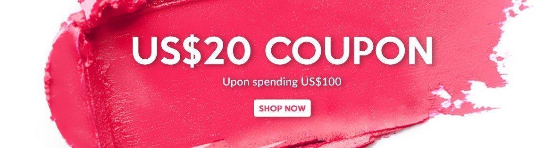 SuperShopping Bonus: Spend US$100 & Get a US$20 Coupon!