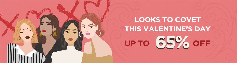 Looks to Covet this Valentine's Day: Makeup Up to 65% Off!