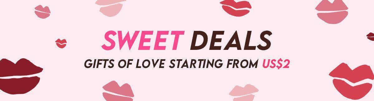 Weekend deals, valentine's day, redemption, US$1 deals, weekend shopping