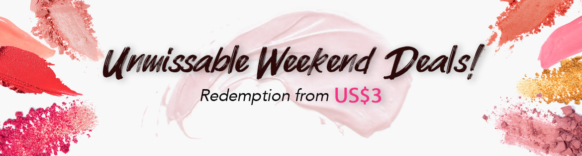 Unmissable Weekend Deals: Redemptions from US$3. Ends 22 Sep 2019.