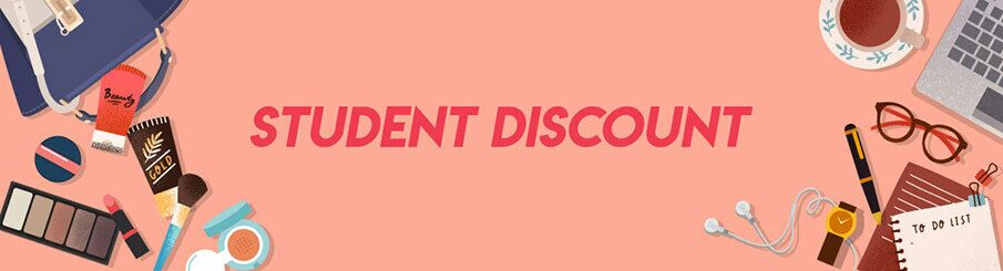 Student Discount 10% Off Sitewide