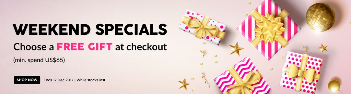 gift and special weekend special deal redemption