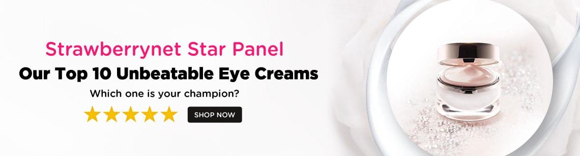 star panel eye creams