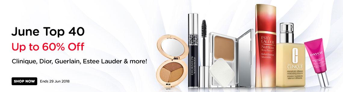 top 40 beauty specials clinique dior mascara estee lauder serum clinique moisturiser payot