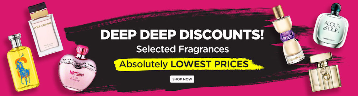 AT COST SALE! Selected Fragrances. Absolutely Lowest Prices!
