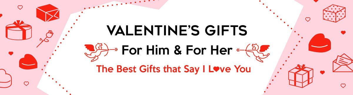 Gifts For Him & Her Perfect for Valentine's Day