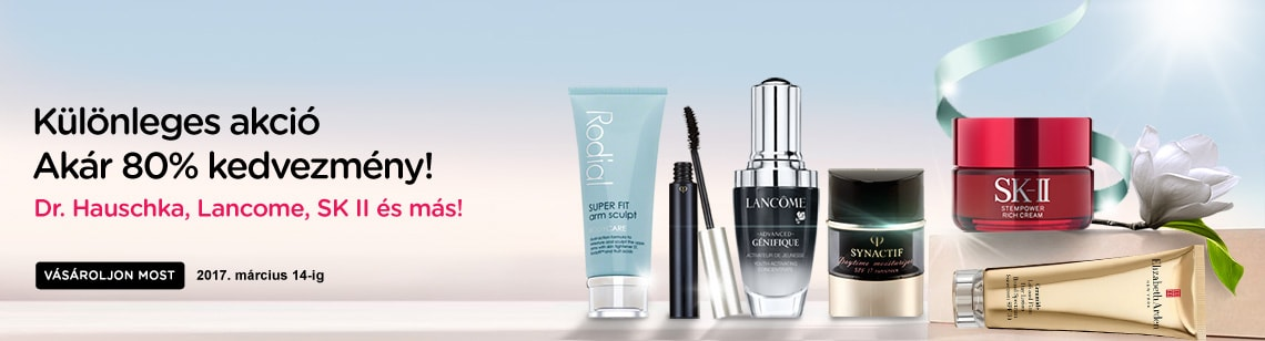 Special Purchase Dr. Hauschka, Lancome, SKII and more