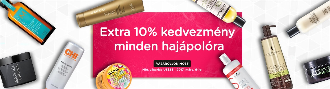 Extra 10% Off Haircare