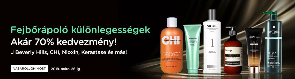haircare sensitive scalp treament chi shiseido nioxin aesop kerastase rene furterer