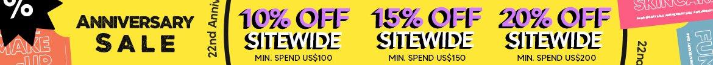 anniversary sale, skincare, makeup, fragrance, beauty, cosmetics, clarins, shiseido, lancome, dermalogica, clinique, christian dior, haircare, aveda, moroccanoil, tigi, elizabeth arden. diptyque, skii, jo malone