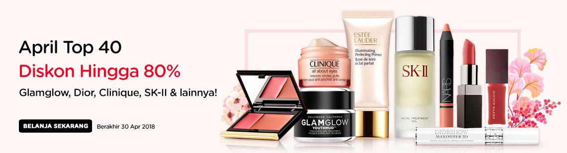 sk-ii facial treatment oil, diorshow maximizer nars laura mercier lipstick kevin aucoin gloss, glamglow youthmud, clinique moisture surge estee lauder primer