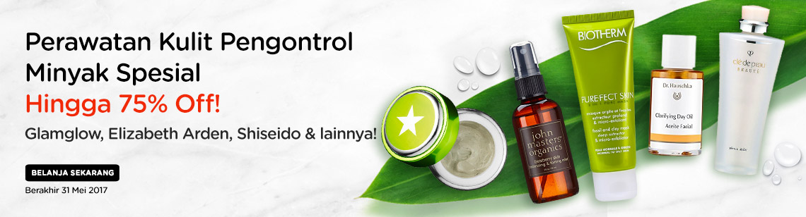 Oil Control Specials Up to 75% Off!