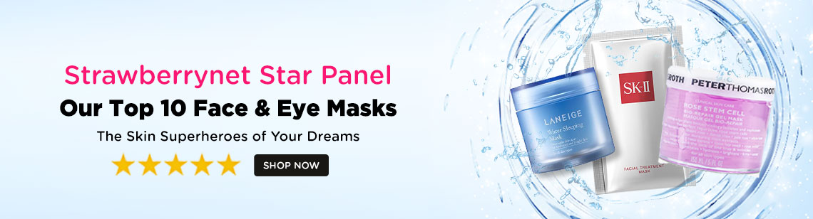 Strawberrynet Star Panel Our Top 10 Face & Eye Masks
