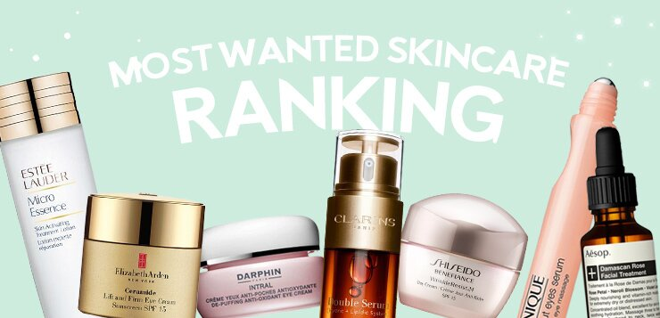 ranking, skincare bestsellers, top picks, serum, moisturizers, cleansers, masks, skincare, makeup, fragrance, haircare, beauty, sale