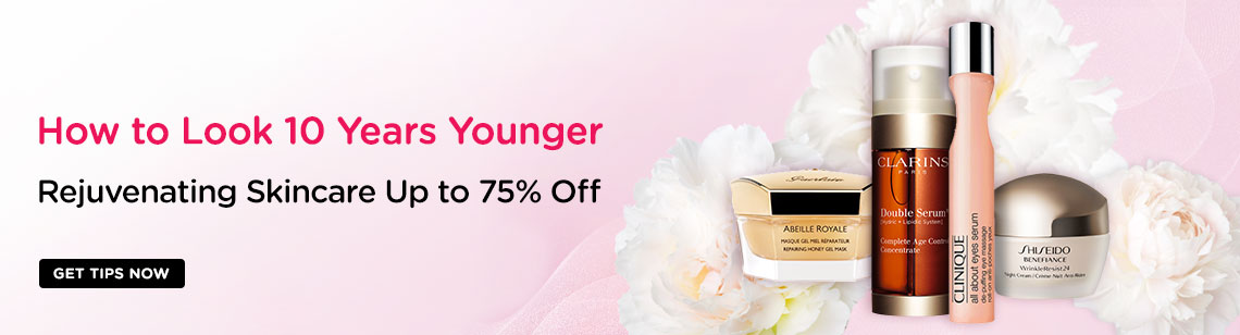 How to Look 10 Years Younger: Rejuvenating Skincare Up to 75% Off