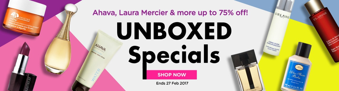 Unboxed Special Up to 80% Off