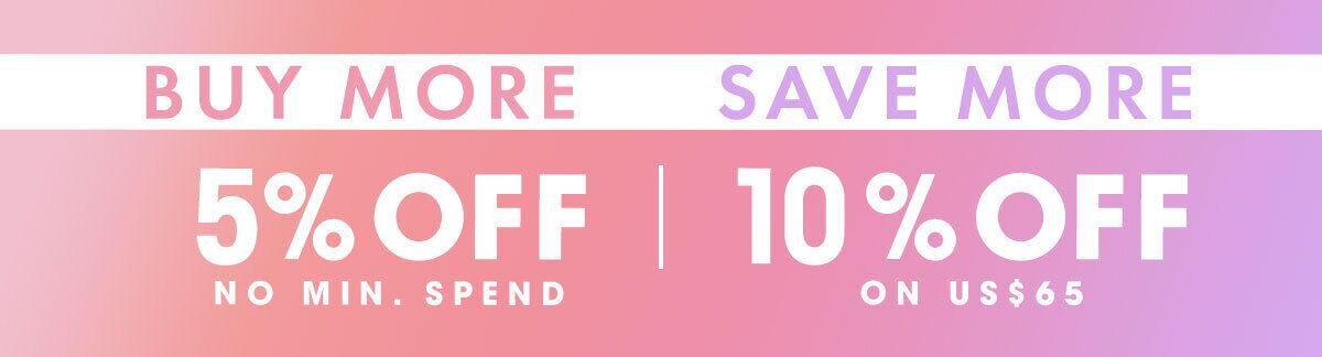 Shop more save more, sale, skincare, makeup, haircare, fragrance, cologne, Clarins, Clinique, Christian Dior, Elizabeth Arden, Kerastase