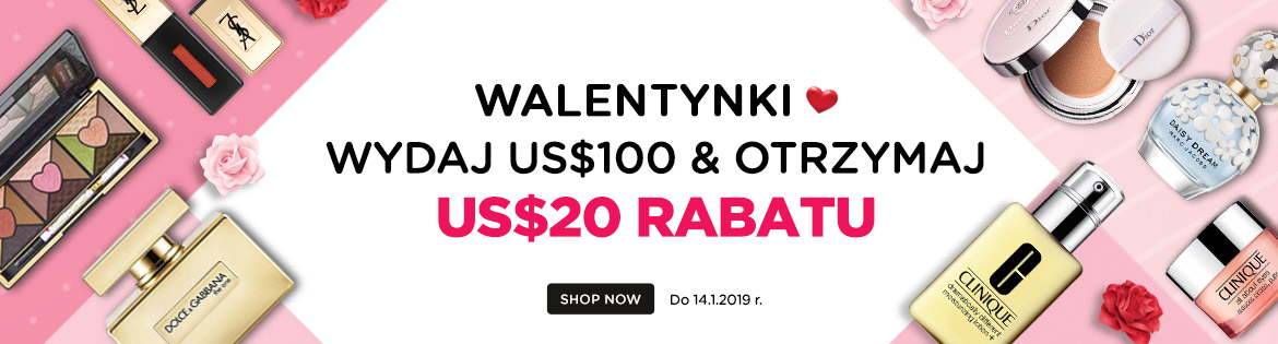 Valentine's Day Early Bird Coupon: Spend US$120, Get a US$20 Coupon! Ends 14 Jan 2019 | Coupon will be sent out on 1 Feb 2019