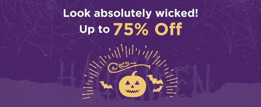Oferty na Halloween, do 75% taniej!