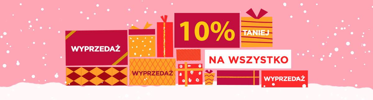 Świąteczne zakupy w ostatniej chwili 10% taniej na cały asortyment! Boże Narodzenie Chanuka Nowy Rok Drugi Dzień Świąt